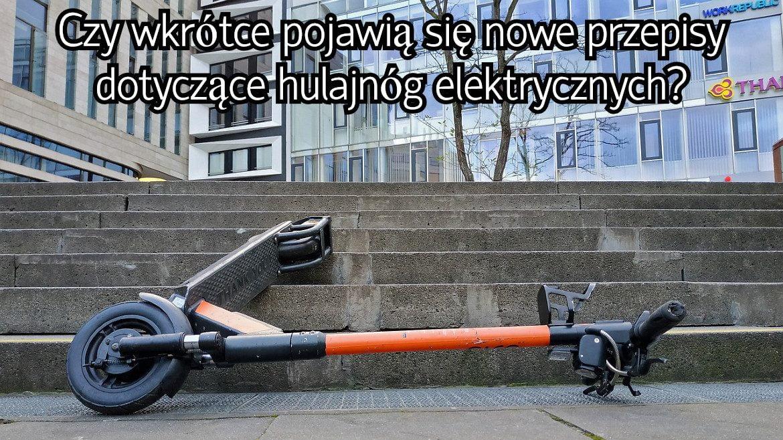 nowe przepisy o hulajnogach elektrycznych