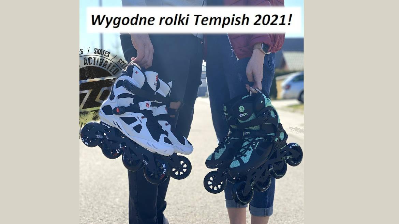 Wygodne rolki Tempish 2021